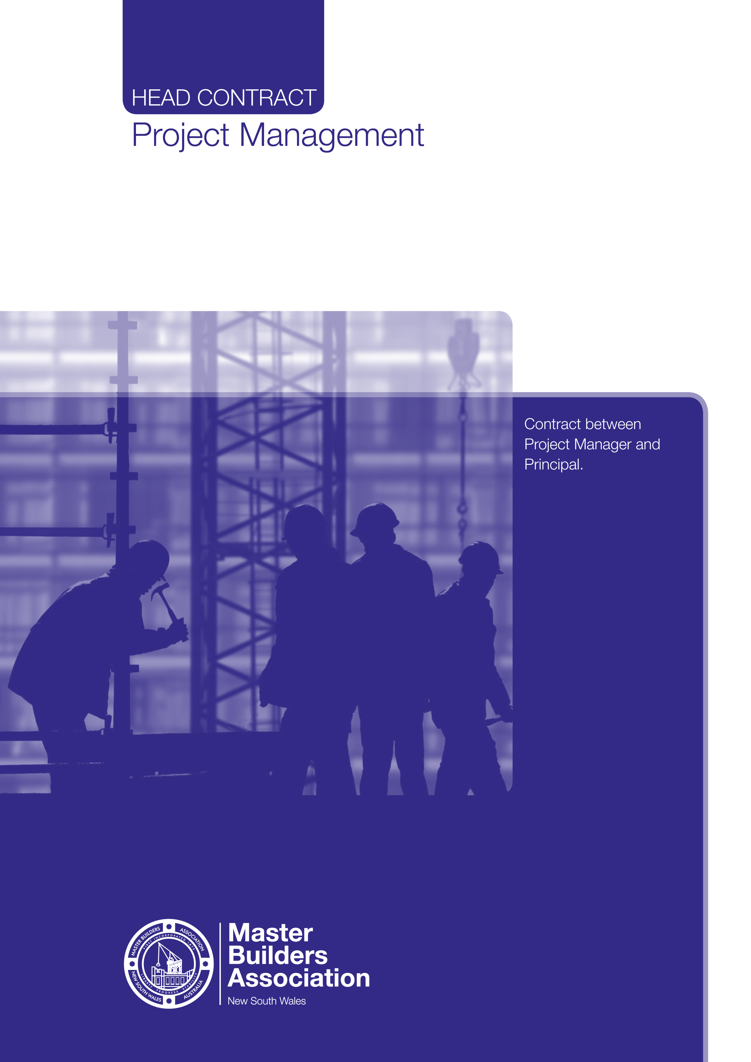 Pm2 Project Management Agreement Set Of 2 Master Builders Wa