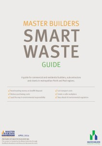 Smart waste guide cover