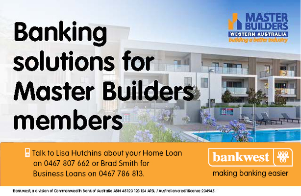 Bankwest Banking Solutions for Master Builders Members