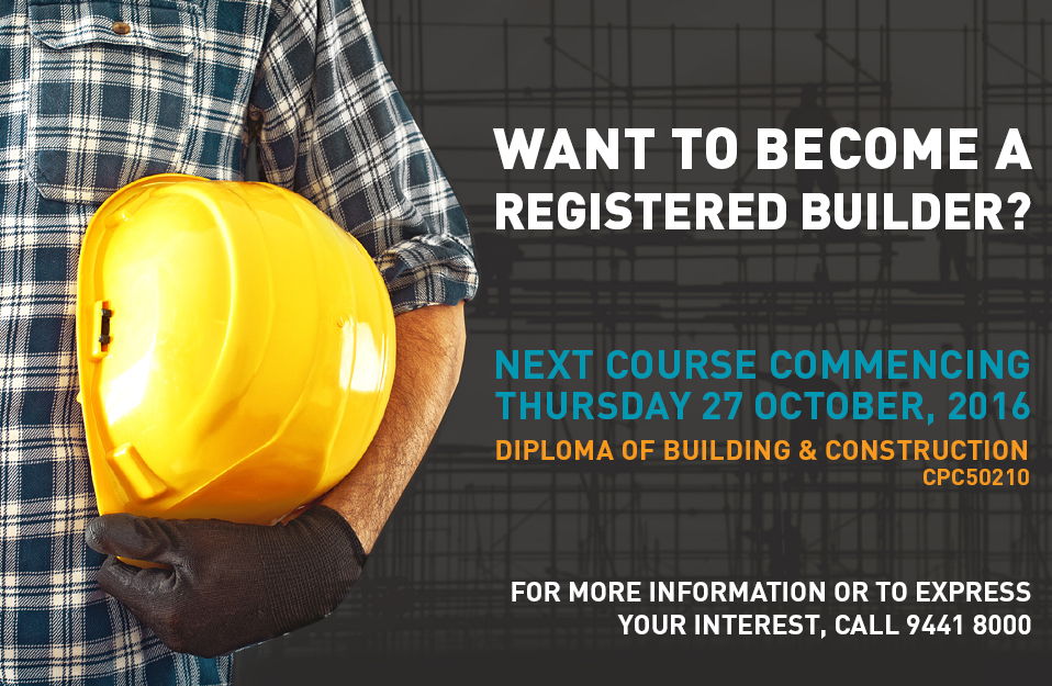 DIPLOMA OF BUILDING & CONSTRUCTION