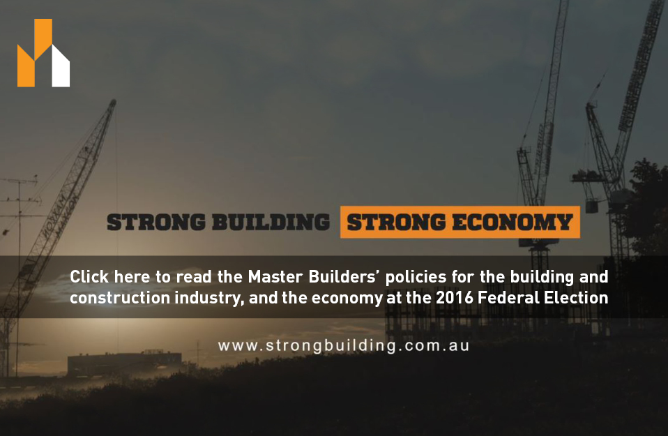 Strong Building. Strong Economy