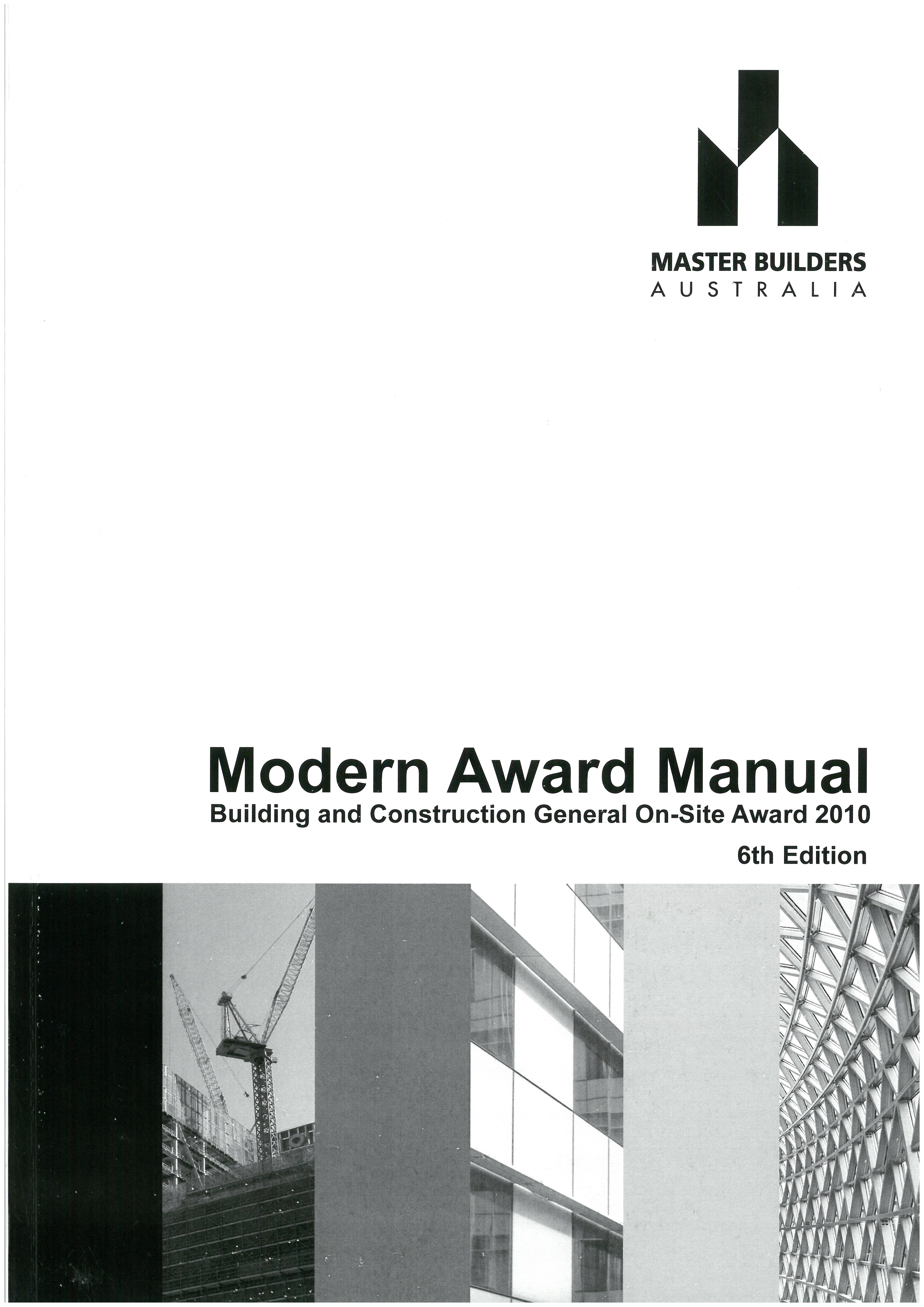 Master Builders Modern Award Manual