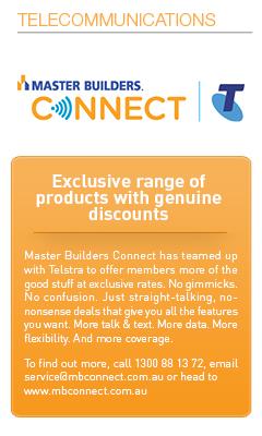Master Builders Savings-Telecommunications